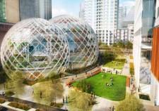 アマゾン新本社屋は、自社のデータセンターの熱で暖房